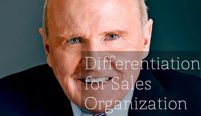 jack welch on differentiation Criticism of rank and yank performance appraisals of company workers has  abounded in light of microsoft's decision to change its performance.