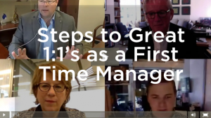 Key Steps to Great 1 on 1 Meetings as a First Time Manager